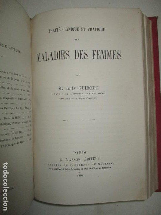 Libros antiguos: PRÉCIS ÉLÉMENTAIRE DE L'ART DES ACCOUCHEMENTS sous forme de demandes et réponses. - GIRARD, C. 1876. - Foto 5 - 123194836