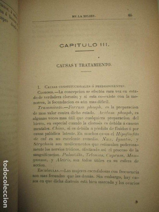 Libros antiguos: TRATAMIENTO HIGIÉNICO, MÉDICO Y QUIRÚRGICO DE LAS ENFERMEDADES DE LAS MUJERES... HALE, Edwin M. 1881 - Foto 4 - 123199714