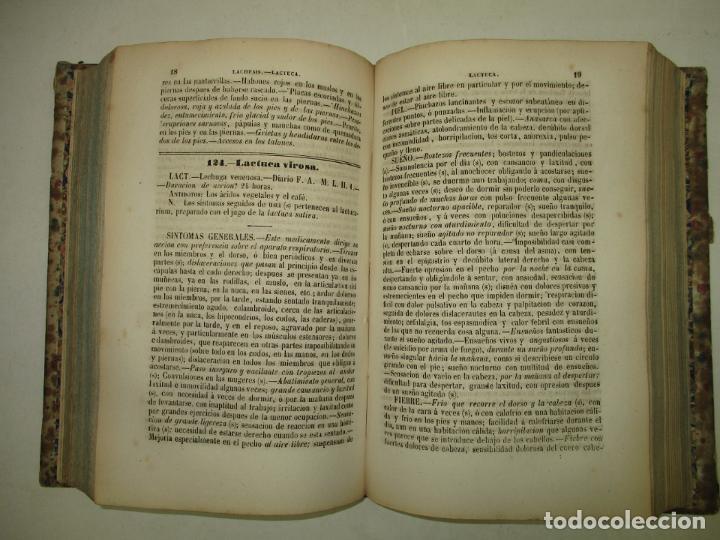 Libros antiguos: NUEVO MANUAL DE MEDICINA HOMEOPATICA. - JAHR, G. H. G. Dr. 1848. - Foto 5 - 123203106