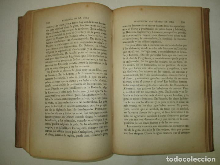 Libros antiguos: LECCIONES SOBRE LAS ENFERMEDADES POR RETARDO DE LA NUTRICIÓN..BOUCHARD, Ch. 1891. - Foto 4 - 123167004
