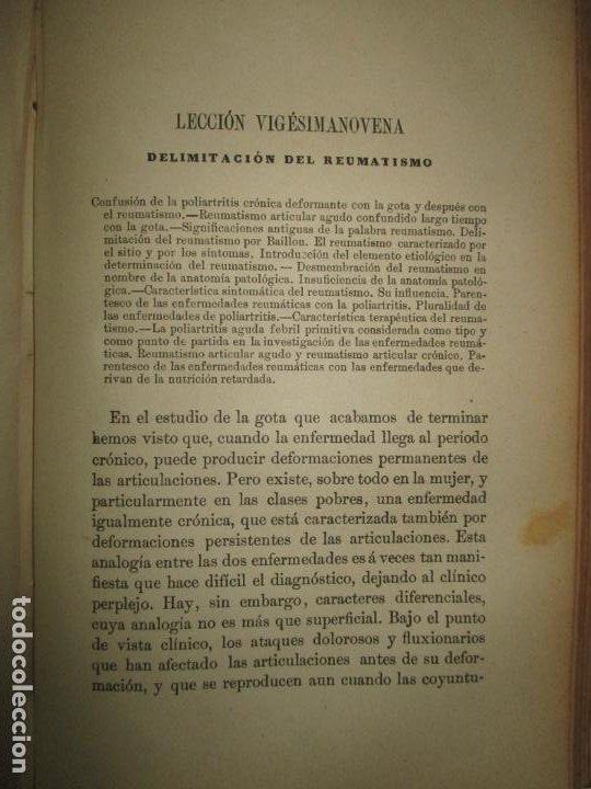 Libros antiguos: LECCIONES SOBRE LAS ENFERMEDADES POR RETARDO DE LA NUTRICIÓN..BOUCHARD, Ch. 1891. - Foto 5 - 123167004