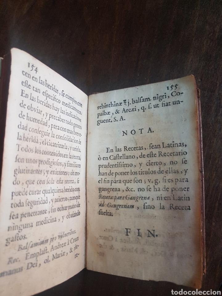 Libros antiguos: Magnífico y único ejemplar a la venta Formulario de medicamentos. Doctor D. Felix de Eguia. Año 1759 - Foto 13 - 188541398
