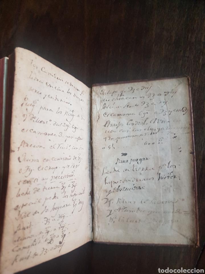 Libros antiguos: Magnífico y único ejemplar a la venta Formulario de medicamentos. Doctor D. Felix de Eguia. Año 1759 - Foto 15 - 188541398