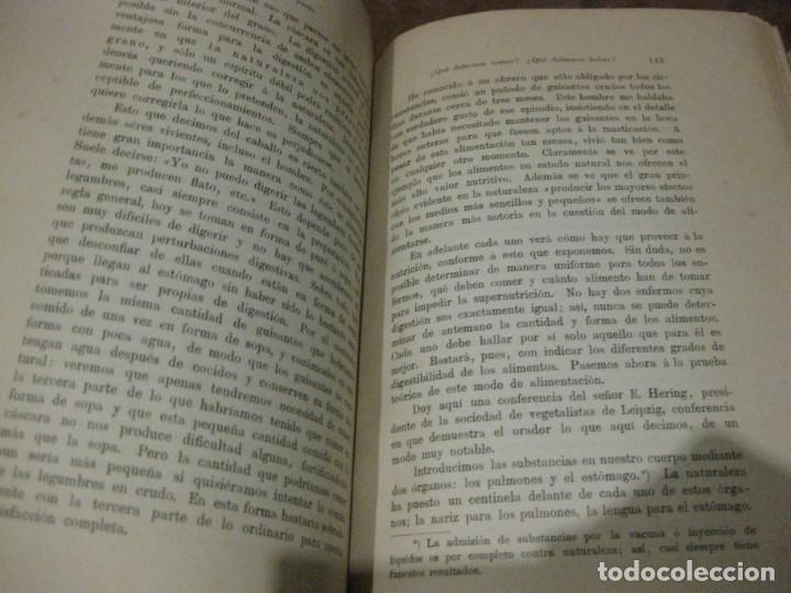 Libros antiguos: la nueva ciencia de curar luis kuhne medicina leipzig 1894 curacion sin medicamentos ni operaciones - Foto 5 - 189595908