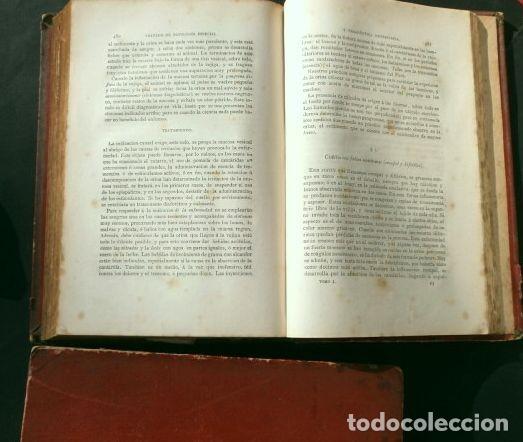 Libros antiguos: Antiguo TRATADO de VETERINARIA (AÑO 1887) PATOLOGIA ESPECIAL Y TERAPEUTICA - ISASMENDI - 2ª EDICION - Foto 12 - 190838750