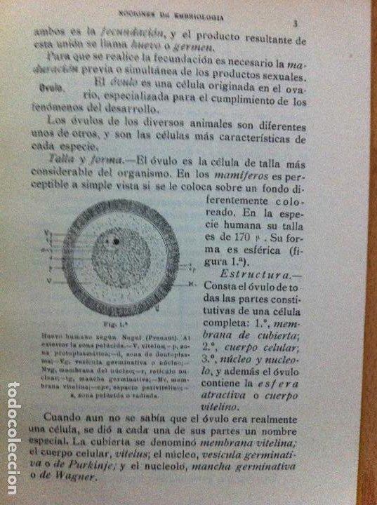 Libros antiguos: Prolegomenos de anatomía. F.Porpeta. 3ªed. 1931 - Foto 4 - 190931230