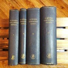 Libros antiguos: ESCUELA ODONTOLÓGICA ALEMANA. 4 T. 1937. Lote 192086713