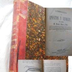 Libros antiguos: COMPENDIO DE APÓSITOS Y VENDAJES. FERRER Y JULVE NICOLÁS. 1877. Lote 192267250