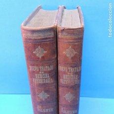 Libros antiguos: NUEVO TRATADO DE MEDICINA VETERINARIA.- D. FRANCISCO SUGRAÑES BARDAGÍ Y D. JOSÉ MÁS ALEMANY. Lote 192312418