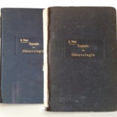 Libros antiguos: TRATADO DE ODONTOLOGÍA. DR. RAMON PONS I OMS. 1914-1915. 2 TOMOS. Lote 193990626