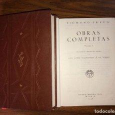 Libros antiguos: OBRAS COMPLETAS DE SIGMUND FREUD ( 2 TOMOS ) EDICION 1948.. Lote 194087311
