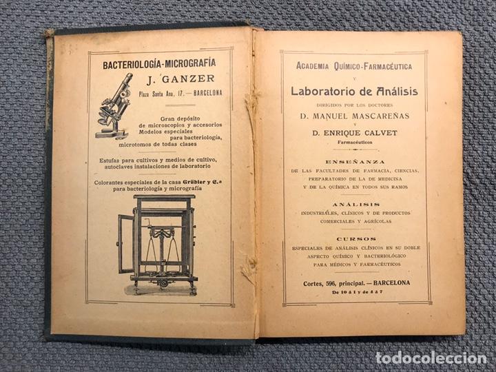 Libros antiguos: LIBRO. MANUAL DE TÉCNICA BACTERIOLÓGICA, por Dr. Rudolf Abel (a.1908) - Foto 2 - 194138940