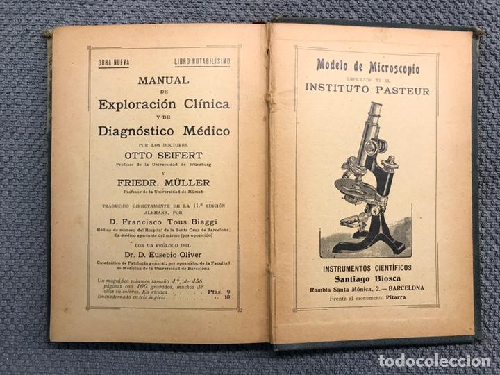 Libros antiguos: LIBRO. MANUAL DE TÉCNICA BACTERIOLÓGICA, por Dr. Rudolf Abel (a.1908) - Foto 5 - 194138940
