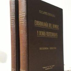 Libros antiguos: EMBRIOLOGIA DEL HOMBRE Y DEMAS VERTEBRADOS. Lote 194168646