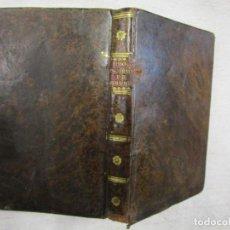 Libros antiguos: ENFERMEDADES DE NERVIOS ABUSO DE LOS PLACERES DEL AMOR Y EXCESOS DEL ONANISMO, 1828, TISSOT, SENRA +. Lote 194211782