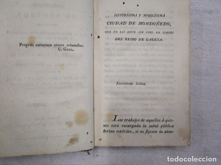 Libros antiguos: Enfermedades de nervios abuso de los placeres del amor y excesos del onanismo, 1828, Tissot, Senra + - Foto 3 - 194211782