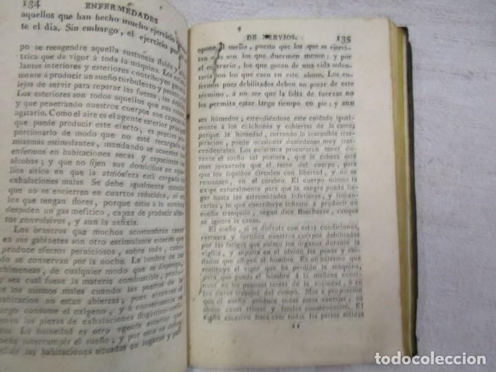 Libros antiguos: Enfermedades de nervios abuso de los placeres del amor y excesos del onanismo, 1828, Tissot, Senra + - Foto 6 - 194211782