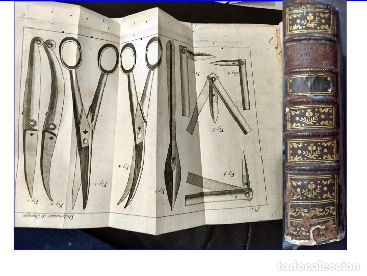AÑO 1777: LIBRO DE MEDICINA DEL SIGLO XVIII CON DESPLEGABLES DE INSTRUMENTAL MÉDICO. 720 PÁGINAS. (Libros Antiguos, Raros y Curiosos - Ciencias, Manuales y Oficios - Medicina, Farmacia y Salud)