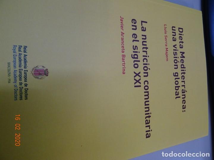Libros antiguos: Dieta Mediterránea , una visión global. La nutrición comunitaria en el siglo XXI - Foto 2 - 194214465