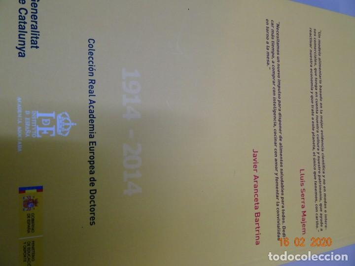 Libros antiguos: Dieta Mediterránea , una visión global. La nutrición comunitaria en el siglo XXI - Foto 3 - 194214465