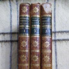 Libros antiguos: 1797. MEDICINA PRÁCTICA DE MAXIMILIEN STOLL. OBRA COMPLETA. EXLIBRIS MARQUÉS DE SANTO DOMINGO. . Lote 194237952