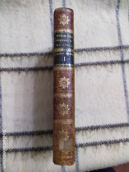 Libros antiguos: 1797. Medicina práctica de Maximilien Stoll. Obra completa. Exlibris Marqués de Santo Domingo. - Foto 3 - 194237952
