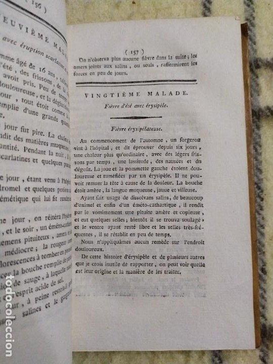 Libros antiguos: 1797. Medicina práctica de Maximilien Stoll. Obra completa. Exlibris Marqués de Santo Domingo. - Foto 23 - 194237952