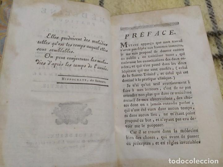 Libros antiguos: 1797. Medicina práctica de Maximilien Stoll. Obra completa. Exlibris Marqués de Santo Domingo. - Foto 34 - 194237952