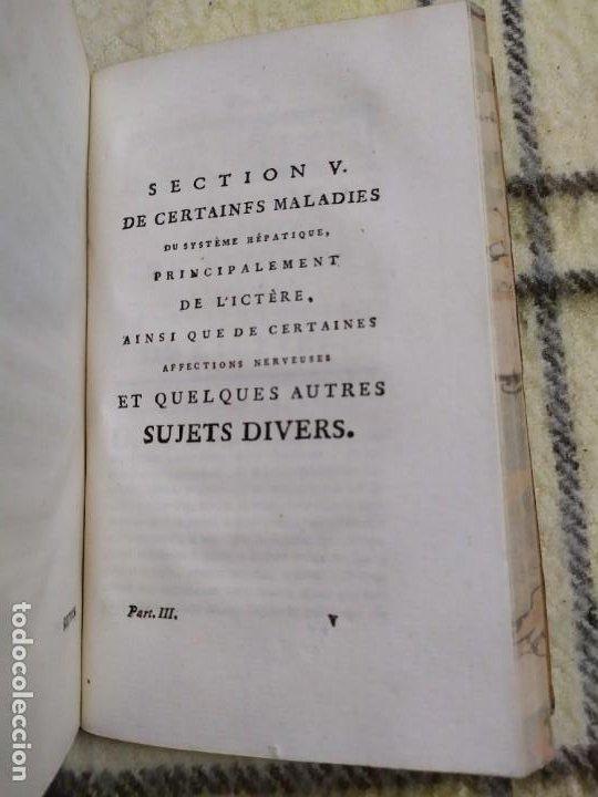 Libros antiguos: 1797. Medicina práctica de Maximilien Stoll. Obra completa. Exlibris Marqués de Santo Domingo. - Foto 40 - 194237952