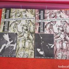 Libros antiguos: REVISTAS PRÁCTICA MÉDICA NÚMEROS 1Y2. Lote 194265478