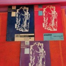 Libros antiguos: REVISTAS PRÁCTICA MÉDICO - QUIRÚRGICA INTERNACIONAL NÚMEROS 24,24,26. Lote 194272492