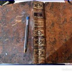 Libros antiguos: AÑO 1767: CAUSIS MORBORUM. LIBRO DE MEDICINA DE 26 CM. DEL SIGLO XVIII.. Lote 194344047