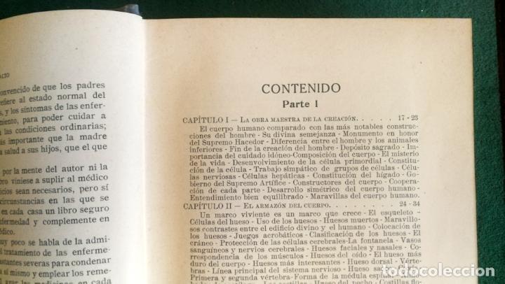 Libros antiguos: LS 32 - GUÍA PRÁCTICA DE LA SALUD - ROSSITER - TRATADO ILUSTRADO EN PERFECTO ESTADO - Foto 9 - 194352193