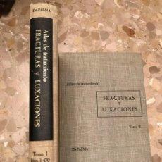 Libros antiguos: ATLAS DE TRATAMIENTO FACTURAS Y LUXACIONES. Lote 194506078
