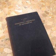 Libros antiguos: DIAGNOSTICO Y TERAPEUTICA DE LAS ICTERICIAS T.A.PINOS. Lote 194510472