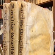 Libros antiguos: PAULI ZACCHIAE. QUAESTIONUM MEDICO-LEGALIUM. - PAOLO ZACCHIA. Lote 194566176