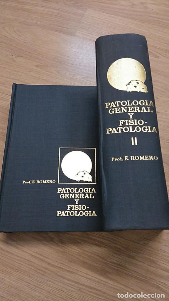 Libros antiguos: PATOLOGÍA GENERAL Y FISIOPATOLOGÍA. ENRIQUE ROMERO. 2 VOLÚMENES - Foto 2 - 194620888