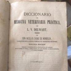 Libros antiguos: MEDICINA VETERINARIA PRACTICA. L. V. DELWART. MADRID 1869. Lote 194694130