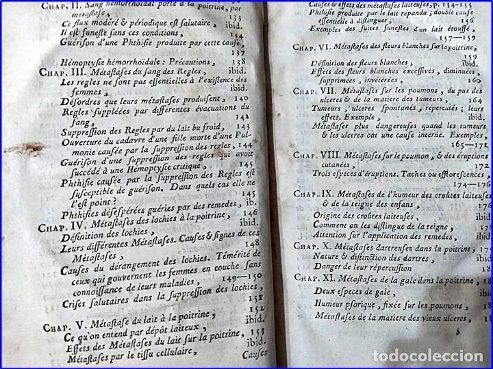 Libros antiguos: AÑO 1782: TRATADO DE LA TISIS PULMONAR. LIBRO DE MEDICINA DEL SIGLO XVIII. - Foto 5 - 194866088