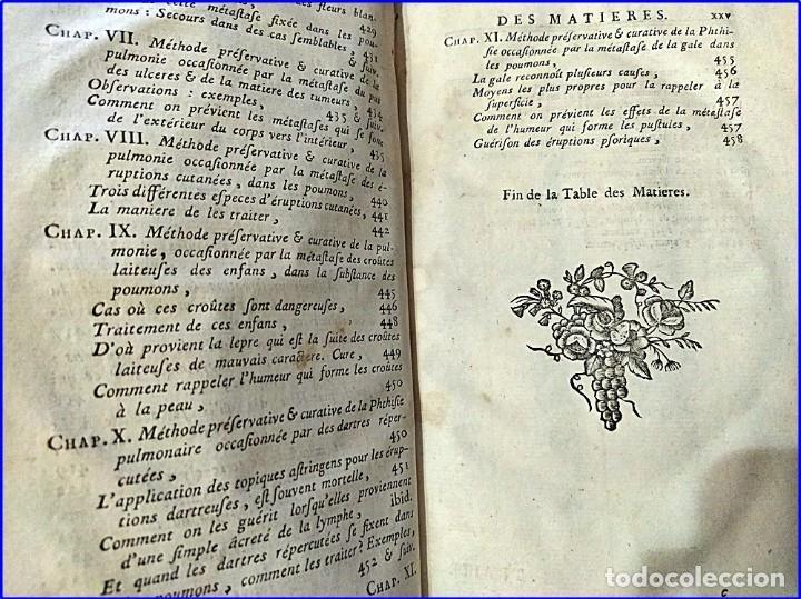 Libros antiguos: AÑO 1782: TRATADO DE LA TISIS PULMONAR. LIBRO DE MEDICINA DEL SIGLO XVIII. - Foto 6 - 194866088