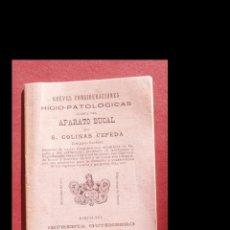 Libros antiguos: BREVES CONSIDERACIONES HIGIO-PATOLÓGICAS ACERCA DEL APARATO BUCAL. S. COLINAS CEPEDA. Lote 194872633