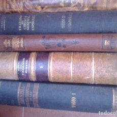 Libros antiguos: LOTE 12 LIBROS ANTIGUOS DE MEDICINA. Lote 195032498