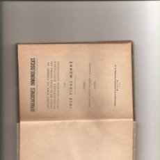 Libros antiguos: 1202. DIVAGACIONES INMUNOLOGICAS. JOSE VIDAL MUNNE. Lote 195109402