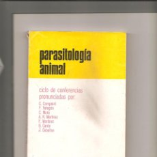 Libros antiguos: 1206. PARASITOLOGIA ANIMAL. Lote 195110902