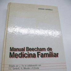 Libros antiguos: MANUAL BEECHAM...ADEMÁS HASTA 25 % DESCUENTO. (ELCOFREDELABUELO). Lote 195146557