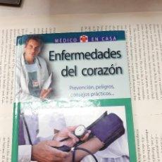 Libros antiguos: ENFERMEDADES DEL CORAZON MEDICO EN CASA DR. GREGORIO JESUS PALACIOS . Lote 195179676