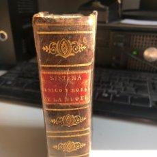 Libros antiguos: SISTEMA FÍSICO Y MORAL DE LA MUJER. Lote 195200068