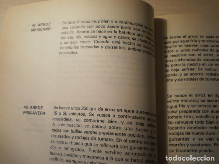 Libros antiguos: Cocina Vegetariana (504 recetas compatibles) Ana Maria Royo (1982) - Foto 3 - 195291535