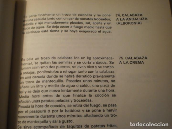 Libros antiguos: Cocina Vegetariana (504 recetas compatibles) Ana Maria Royo (1982) - Foto 4 - 195291535