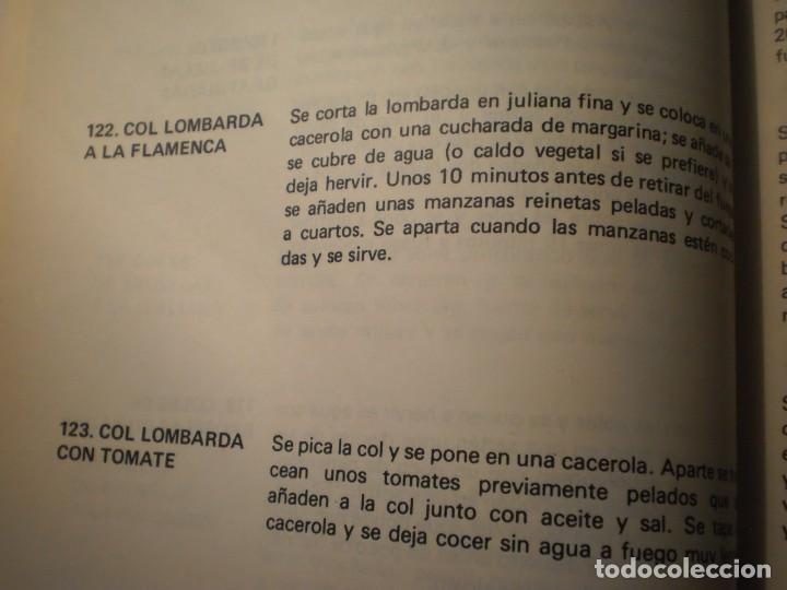 Libros antiguos: Cocina Vegetariana (504 recetas compatibles) Ana Maria Royo (1982) - Foto 5 - 195291535